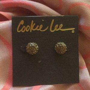 Cookie Lee crystal earrings